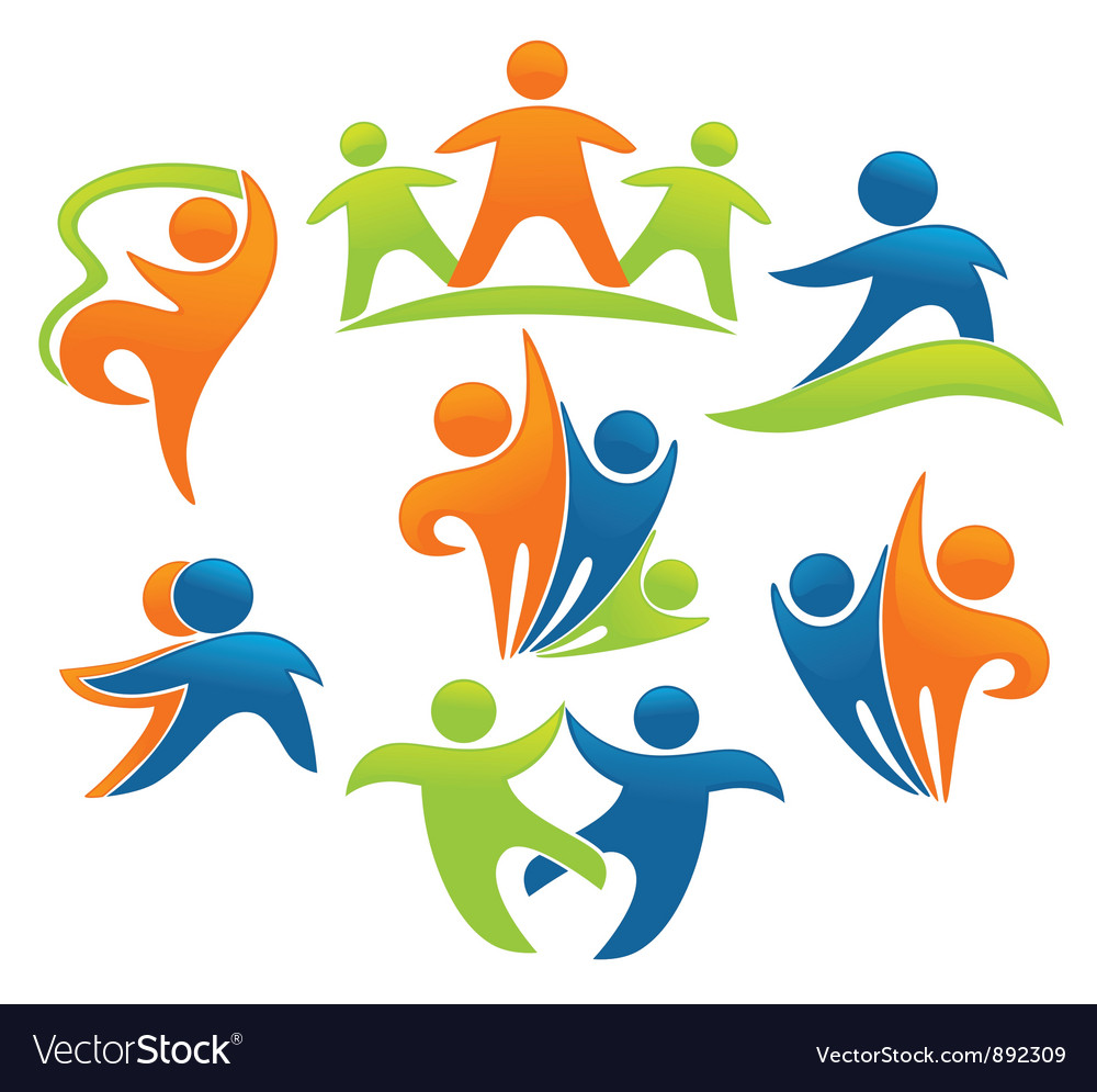 Success leadership and victory vector image