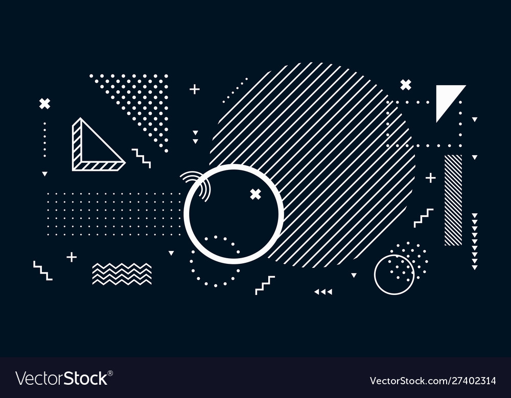 Abstract dark background geometric shapes black