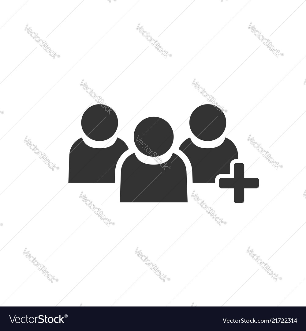 People communication user profile icon in flat