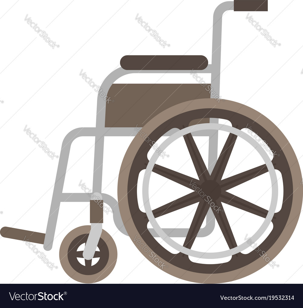 Wheelchair flat