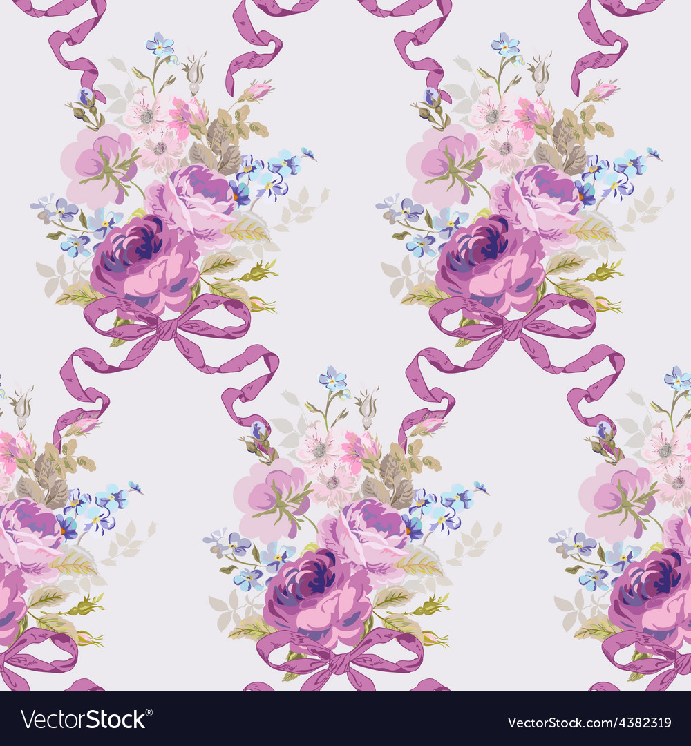 Spring Flowers Backgrounds Royalty Free Vector Image