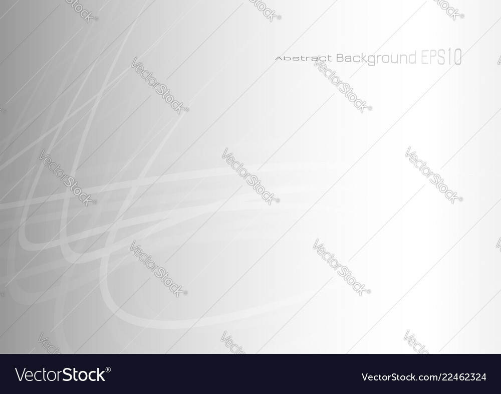 Abstract curve lights on gray background