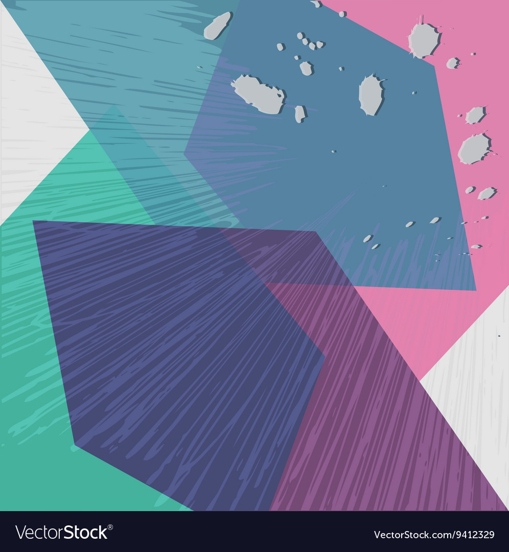 Background with Abstract Poly Geometrical Colorful