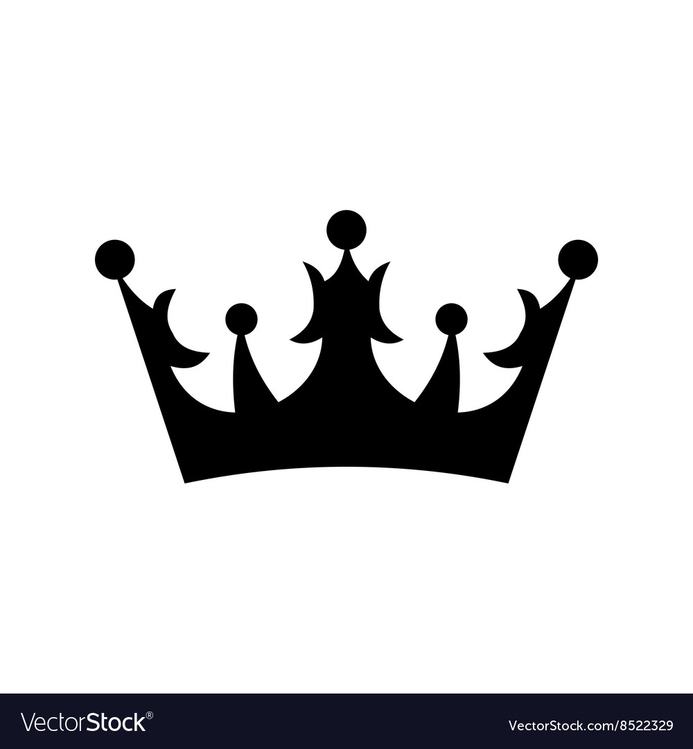 crown icon simple royalty free vector image vectorstock rh vectorstock com free vector crown king free vector crown icon