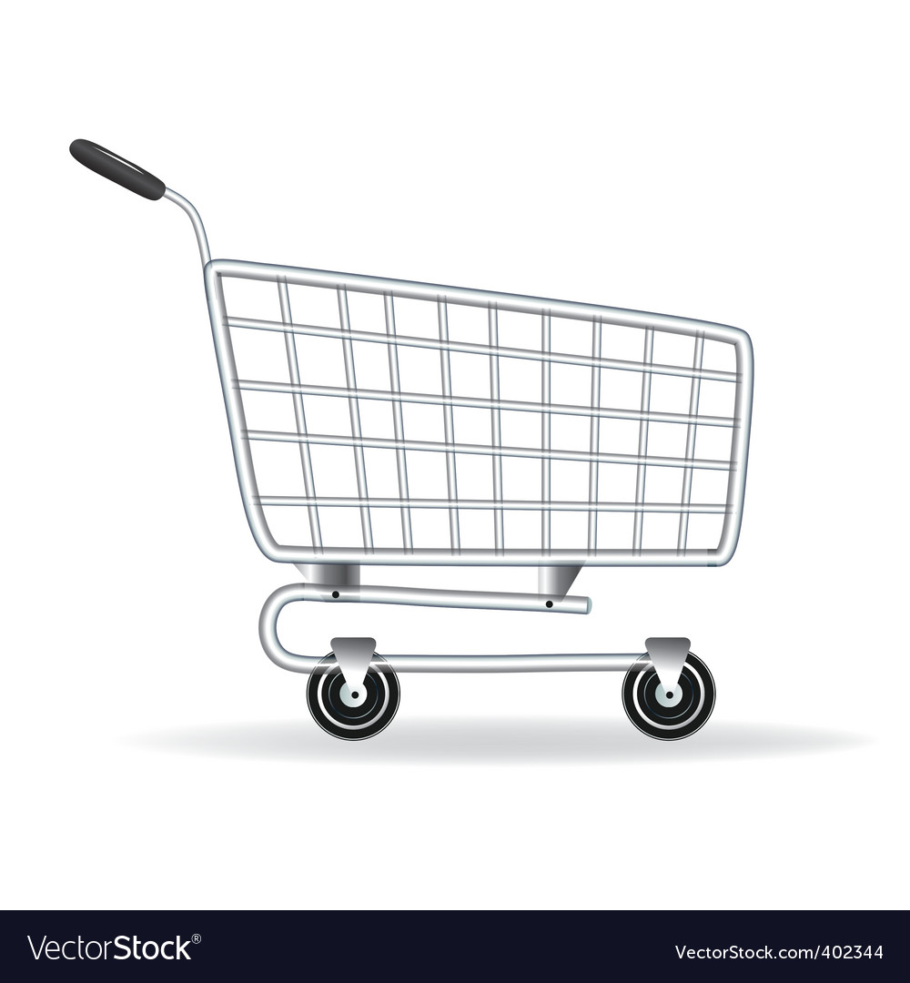 shopping cart icon royalty free vector image vectorstockshopping cart icon vector image