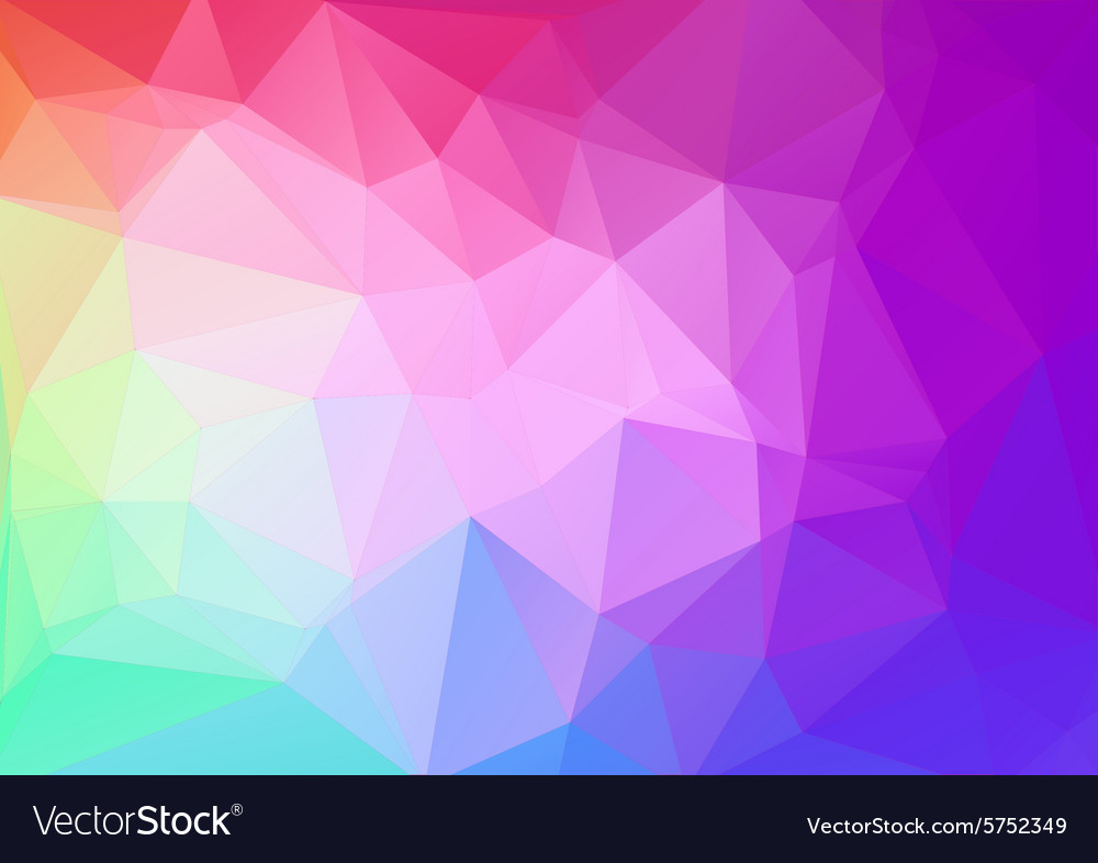 Abstract colorful Geometric Background for Design