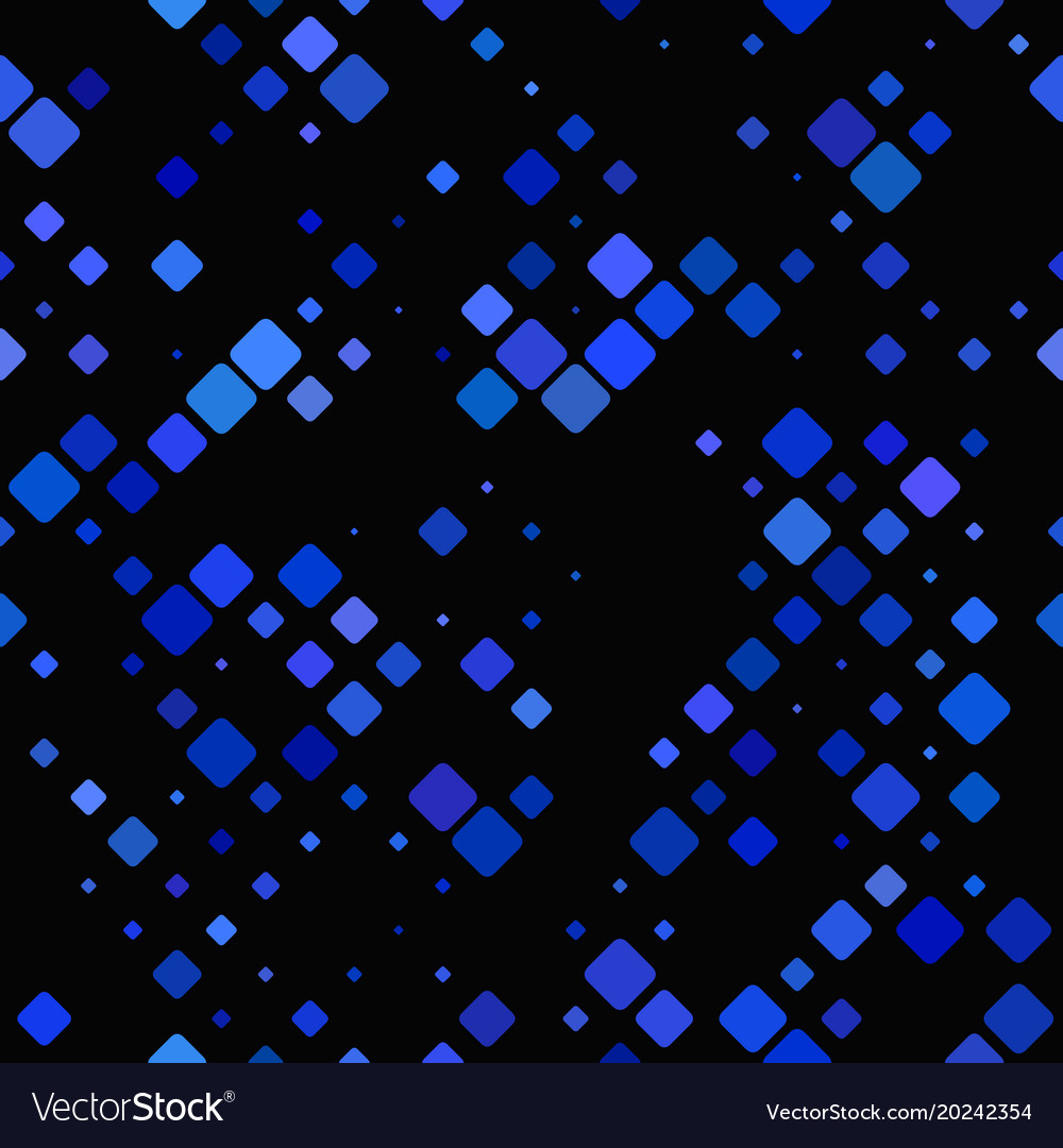 Blue abstract diagonal square pattern background