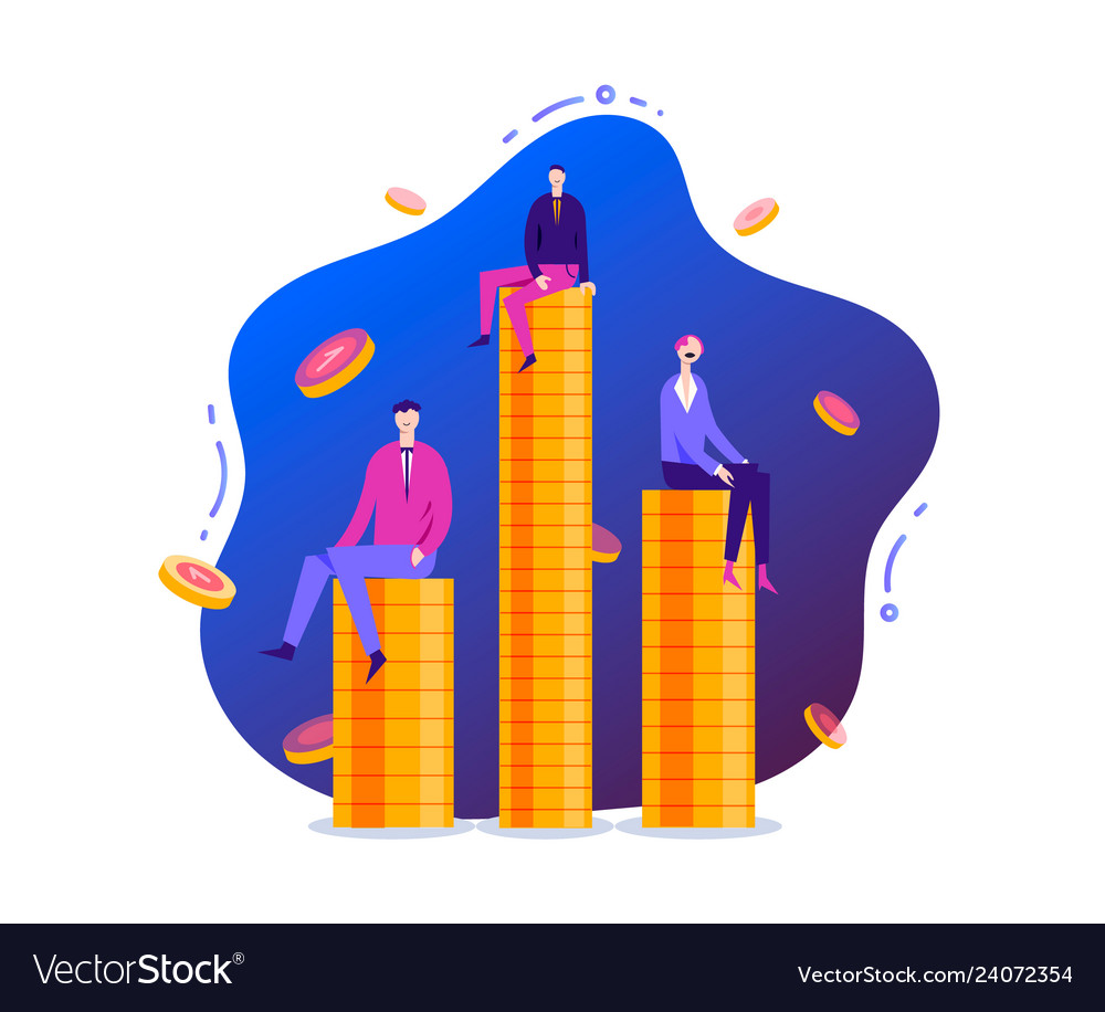 Business stylized characters