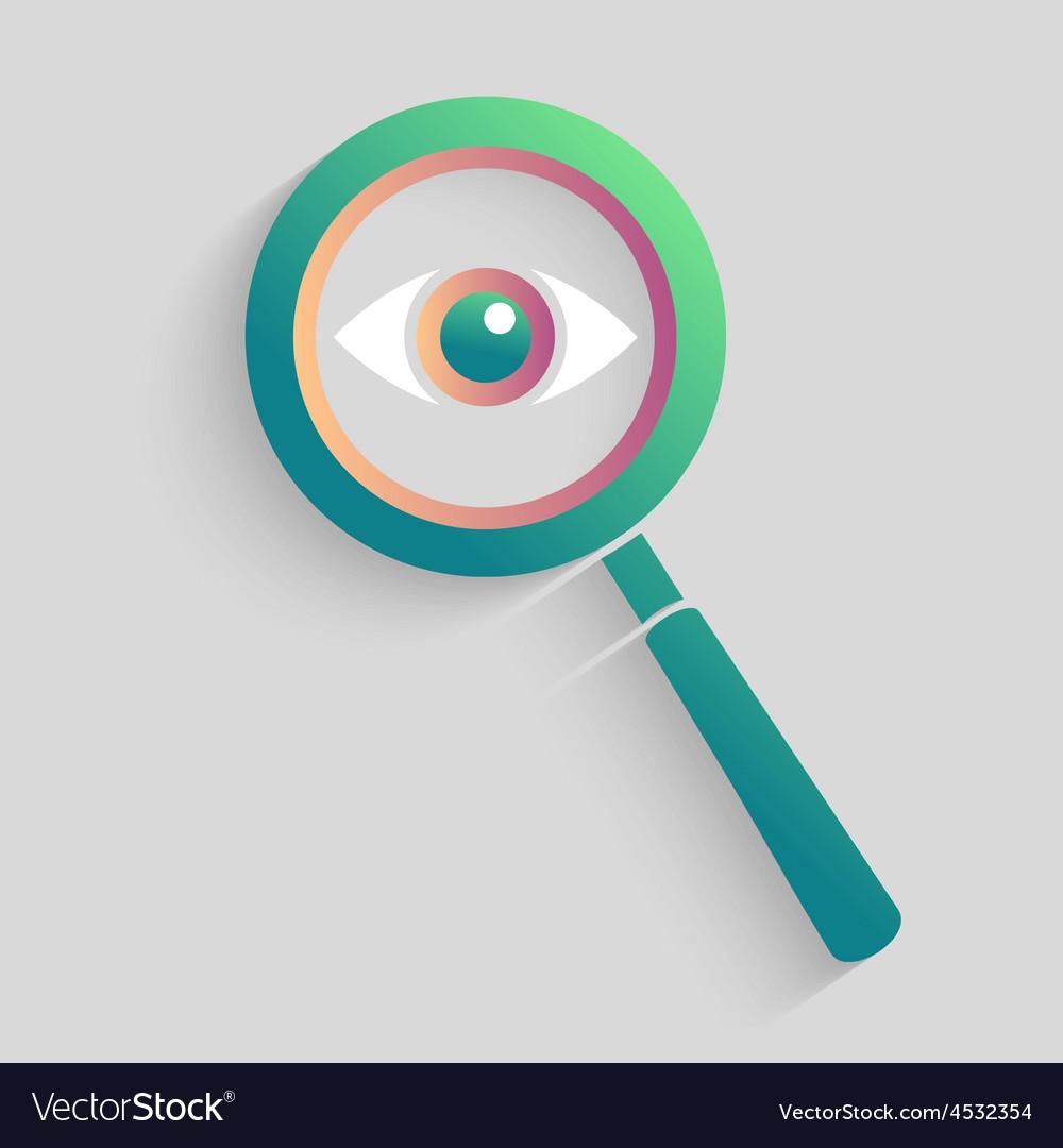 Eye Space in magnifyer