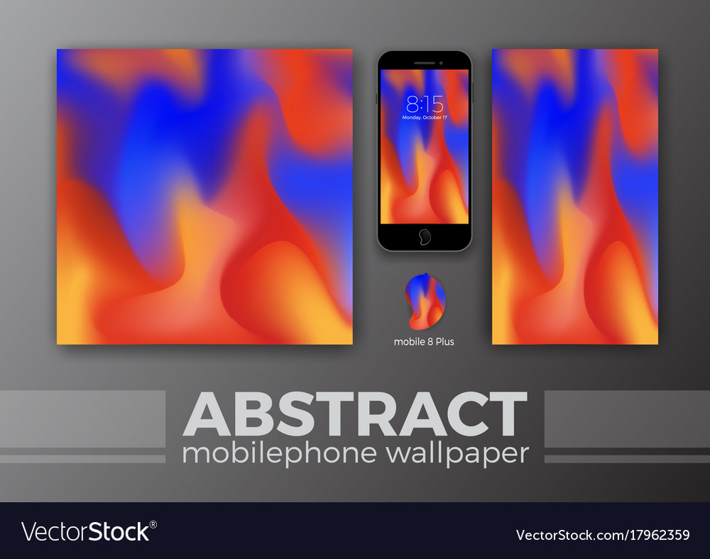 Abstract Background Design For Mobile Wallpaper