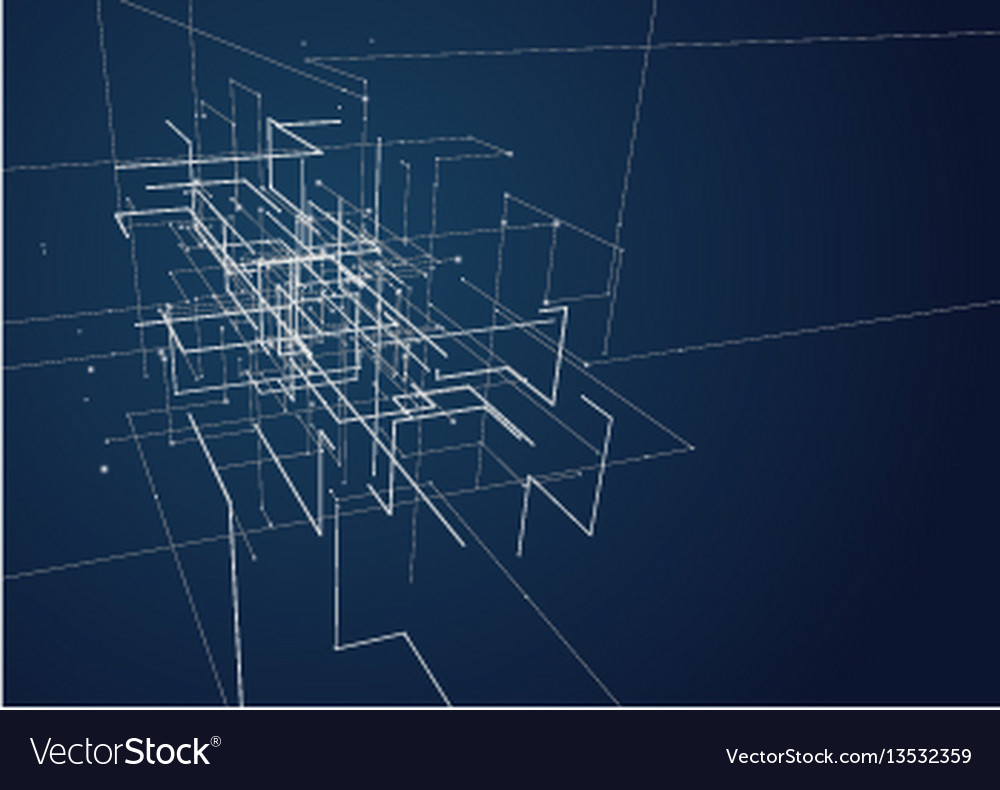 Abstract geometric technology design