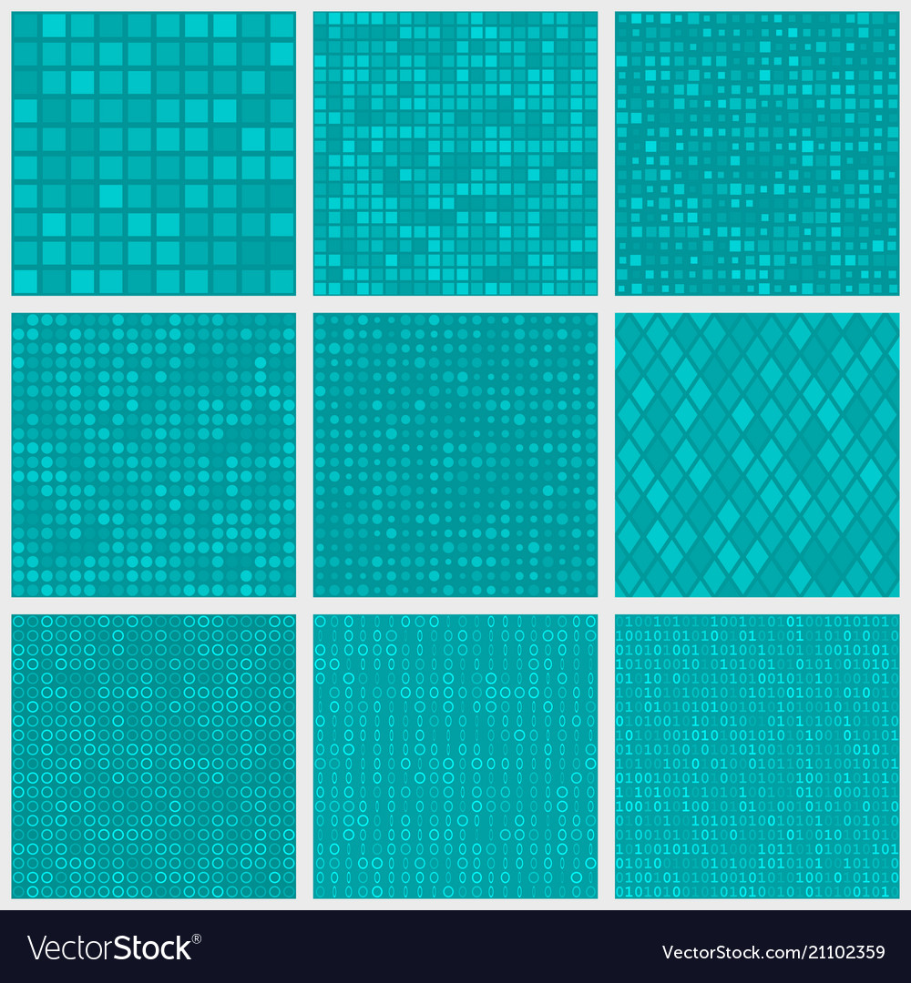 Abstract seamless patterns of small elements