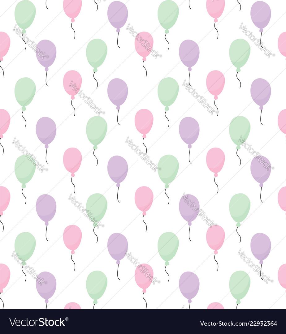 Baloons pattern