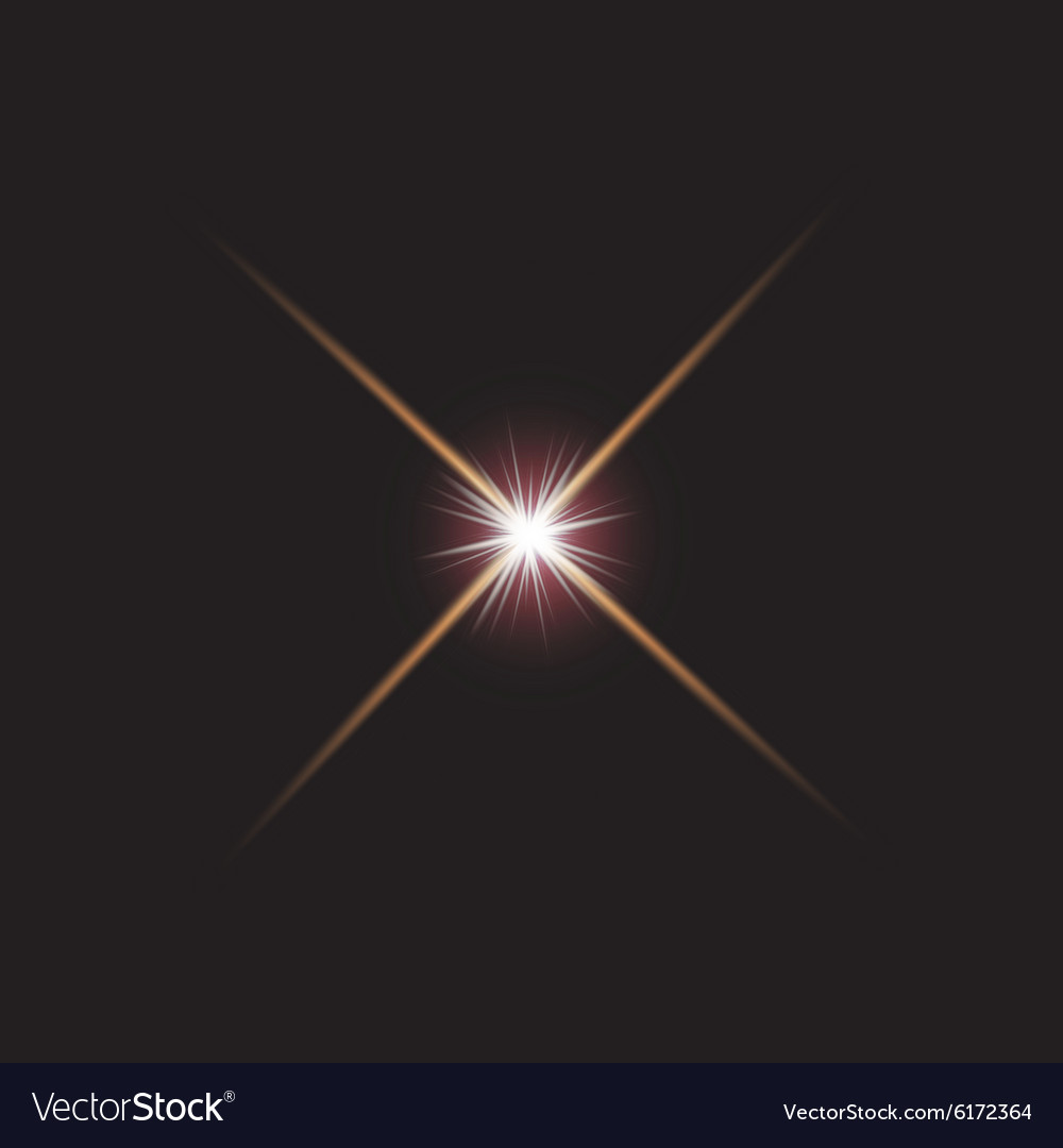 Star Lights Royalty Free Vector Image