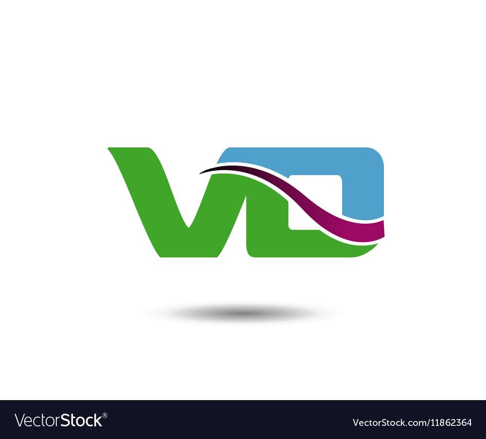 VD logo vector image