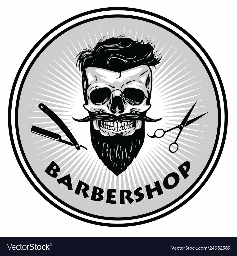 Barbershop barber logo template retro