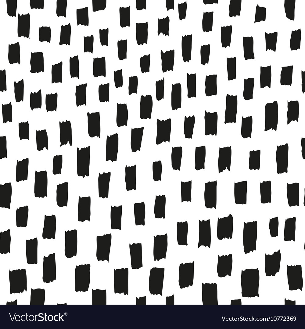 Brush pattern seamless texture background vector image
