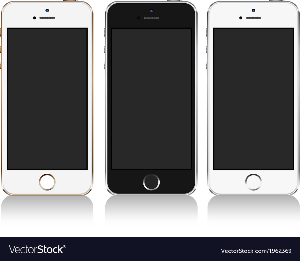 IPhone 5S SE vector image