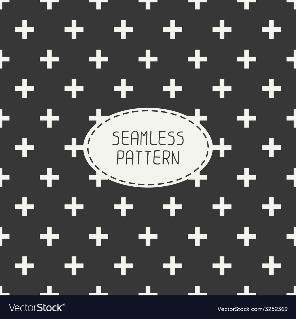 Seamless retro vintage geometrical hipster pattern