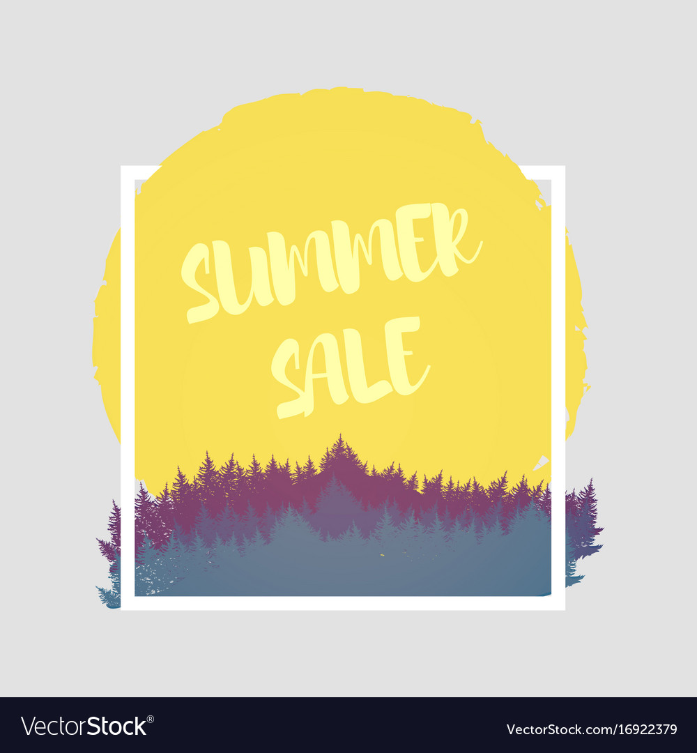 Isolated colorful discount sticker on white
