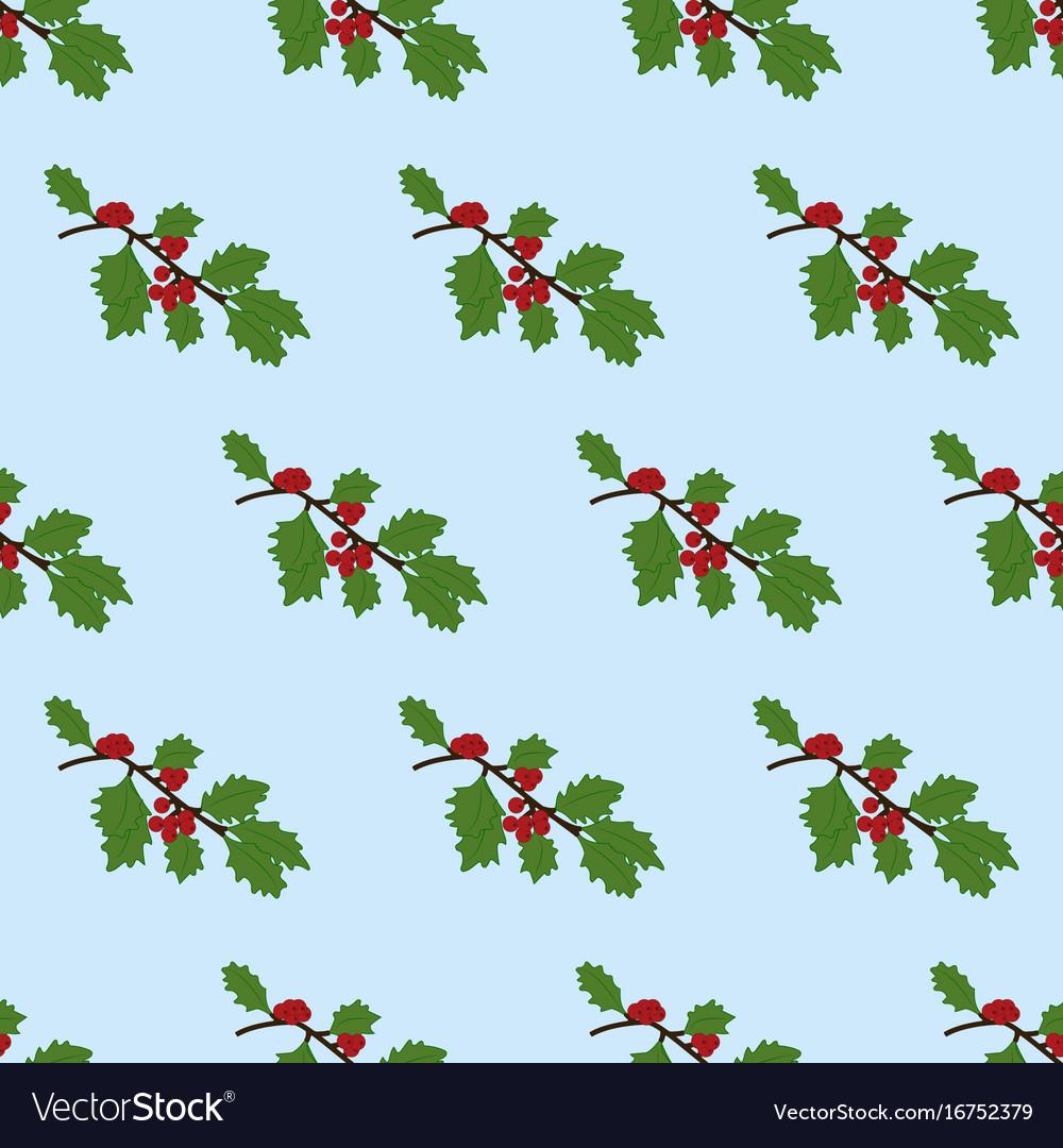 Mistetoe branch pattern