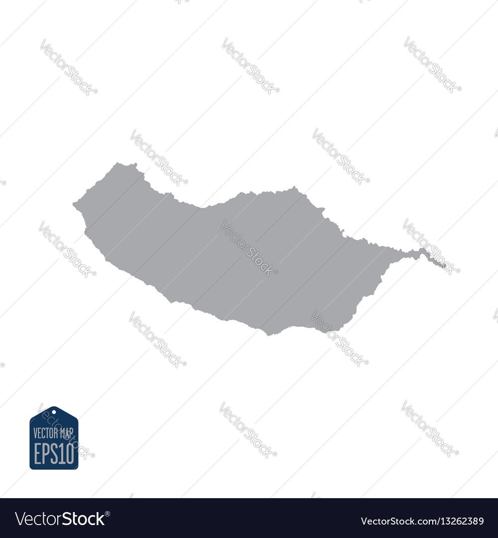 Europe madeira map