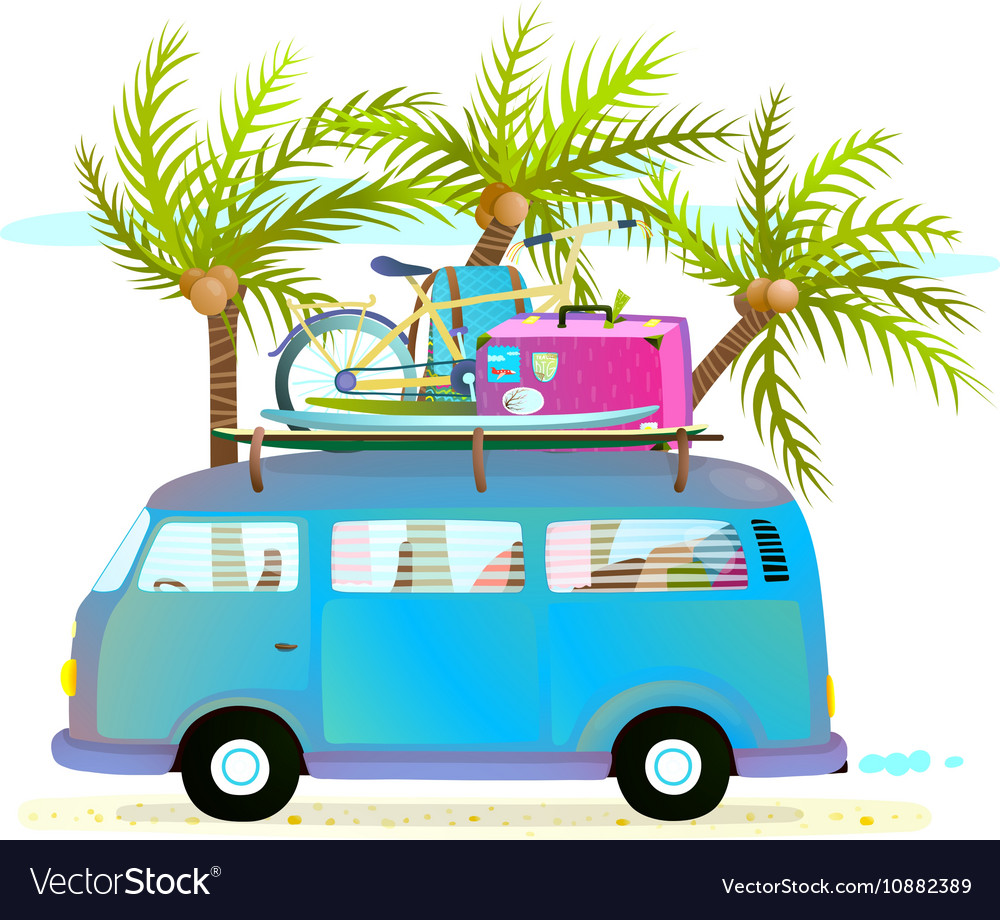 Holiday summer trip bus for be...