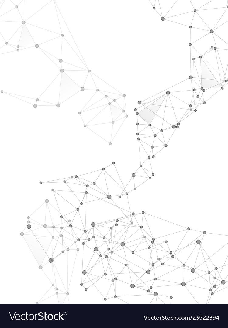 Gometric plexus structure cybernetic concept