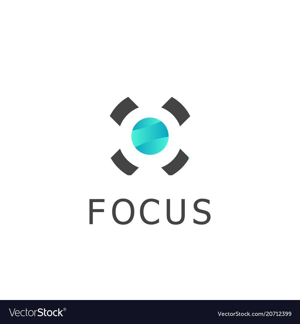 Circle focus logo