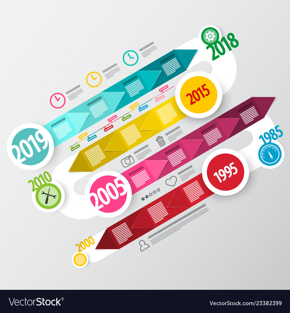 Infographic design colorful infographics business