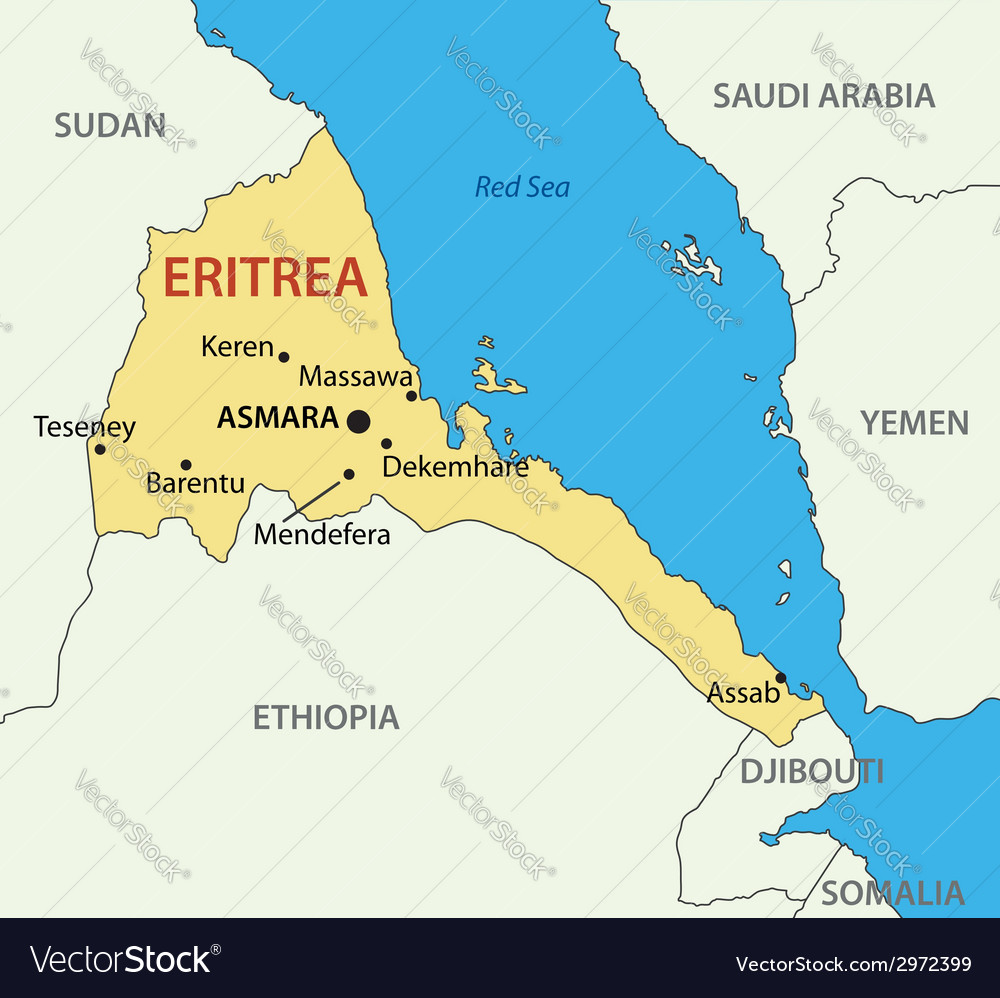 Map Of Africa Eritrea.Top 10 Punto Medio Noticias Eritrea Map