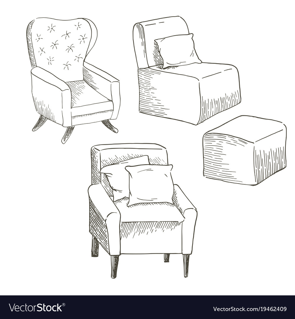 Of The Chairs Royalty Free Vector
