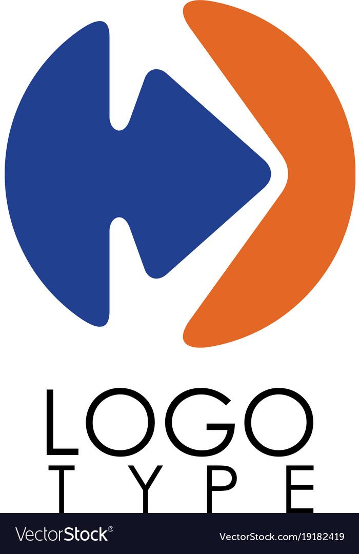 Circle arrow right logo