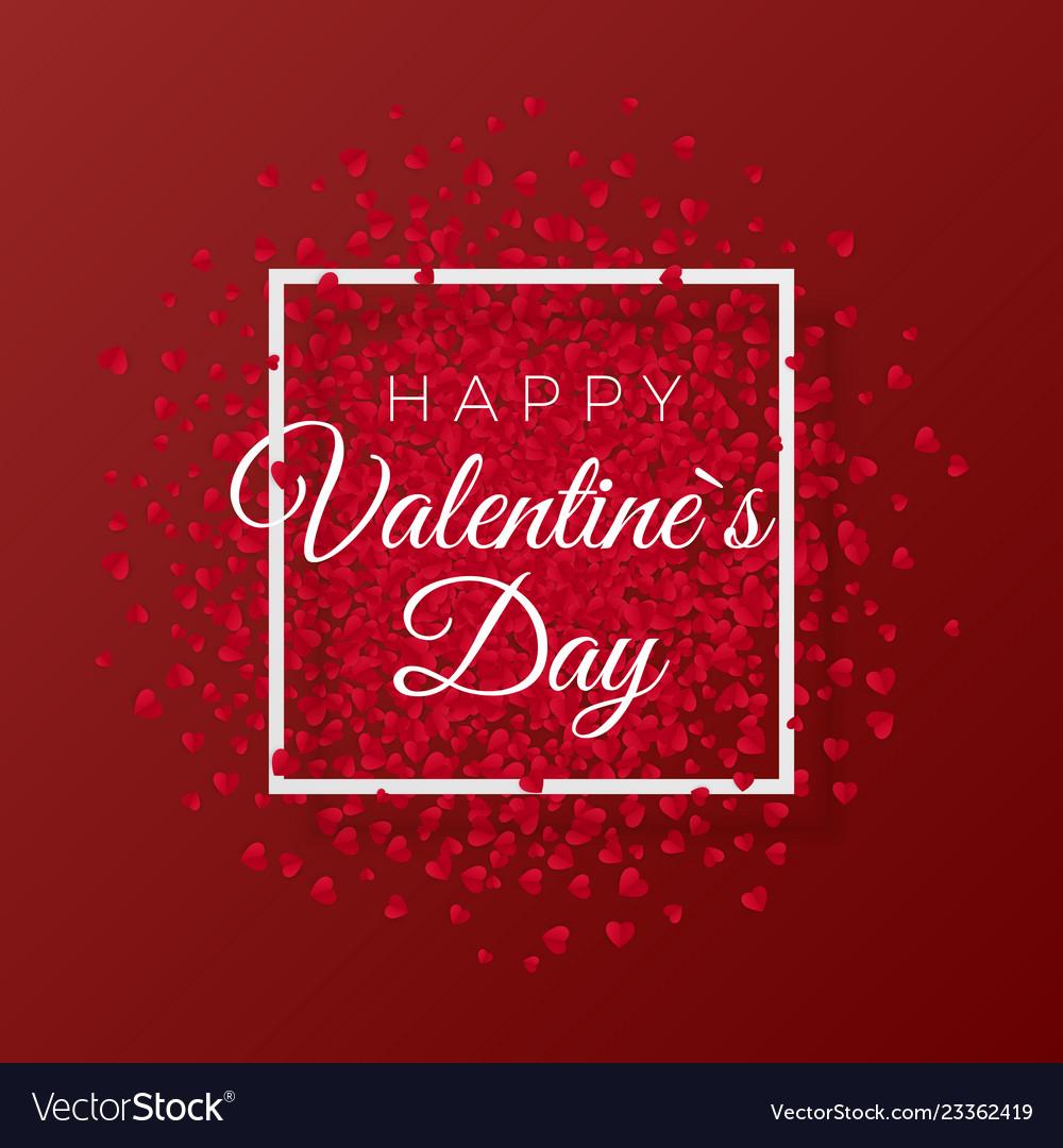 Happy valentines day and weeding romantic design