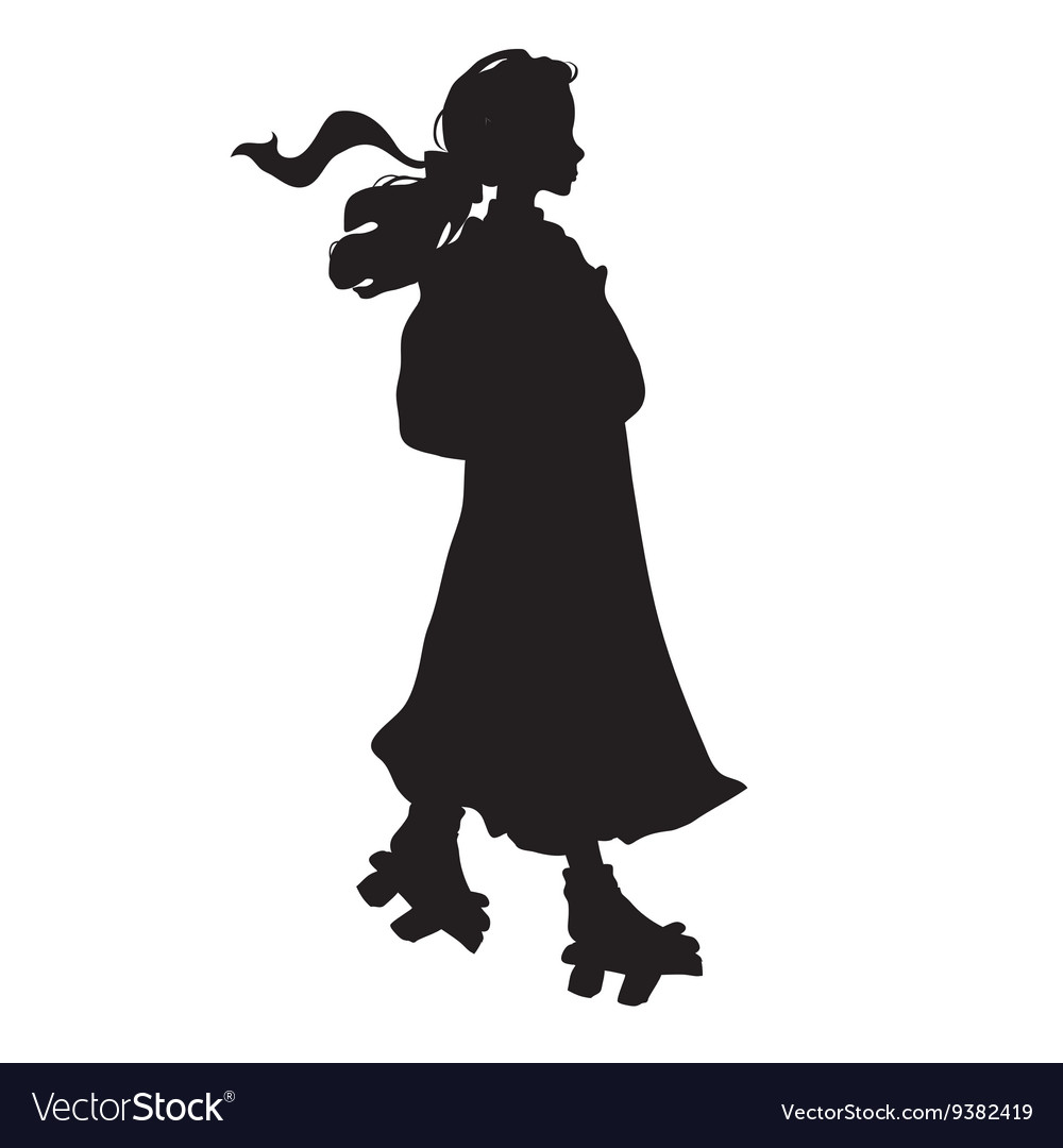 Japanese girl in traditional clothes vector image