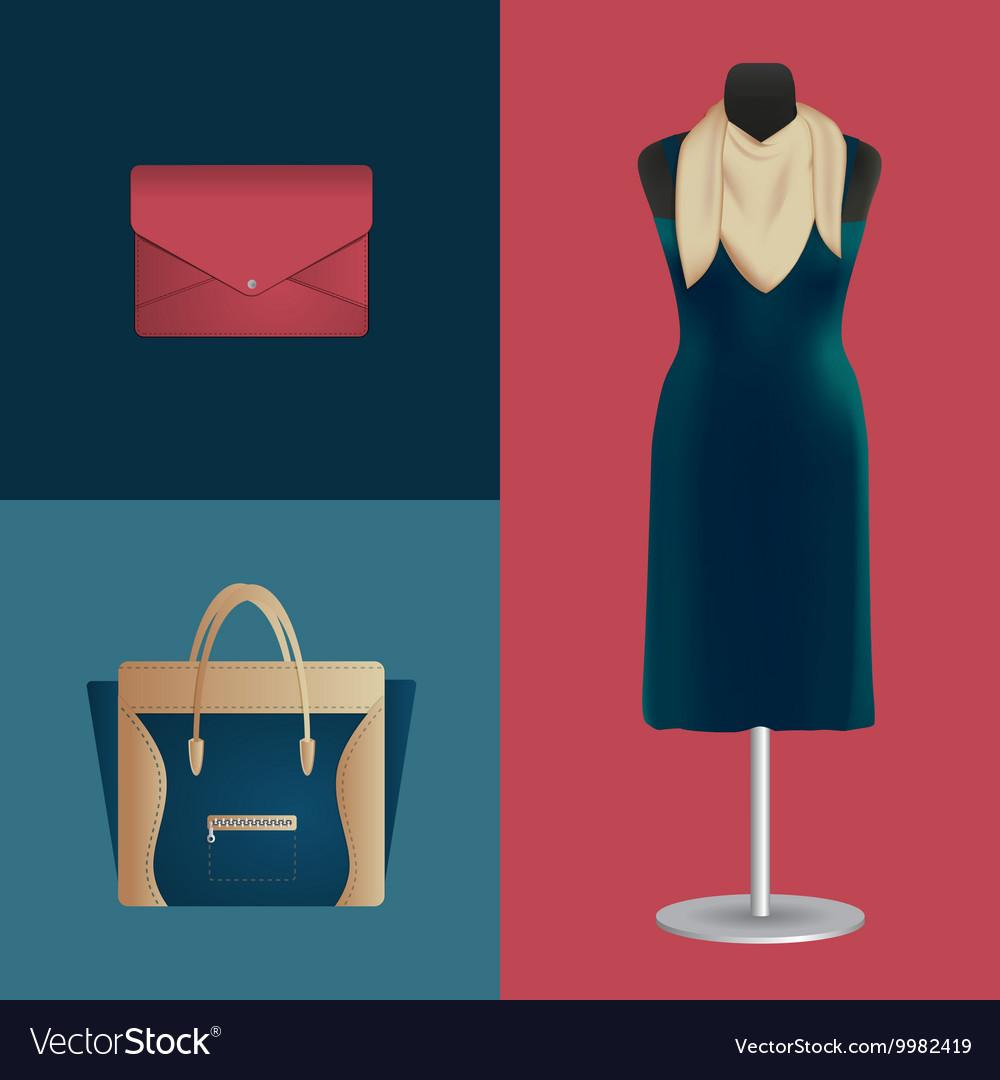 Lookbook vector image