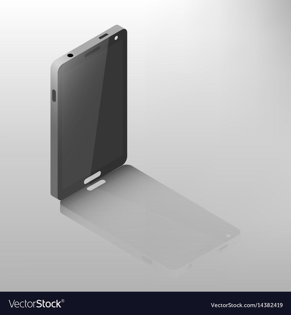 Mobile phone isometric
