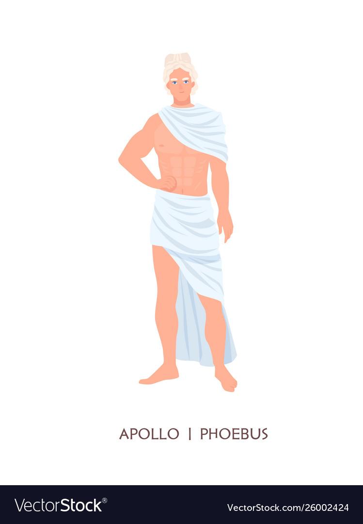 Apollo or phoebus - god or deity art sun
