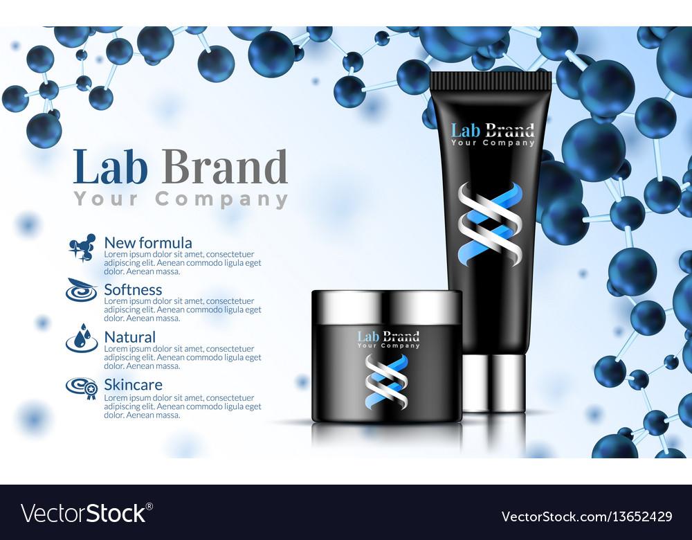 Excellent cosmetics advertising gentle hand