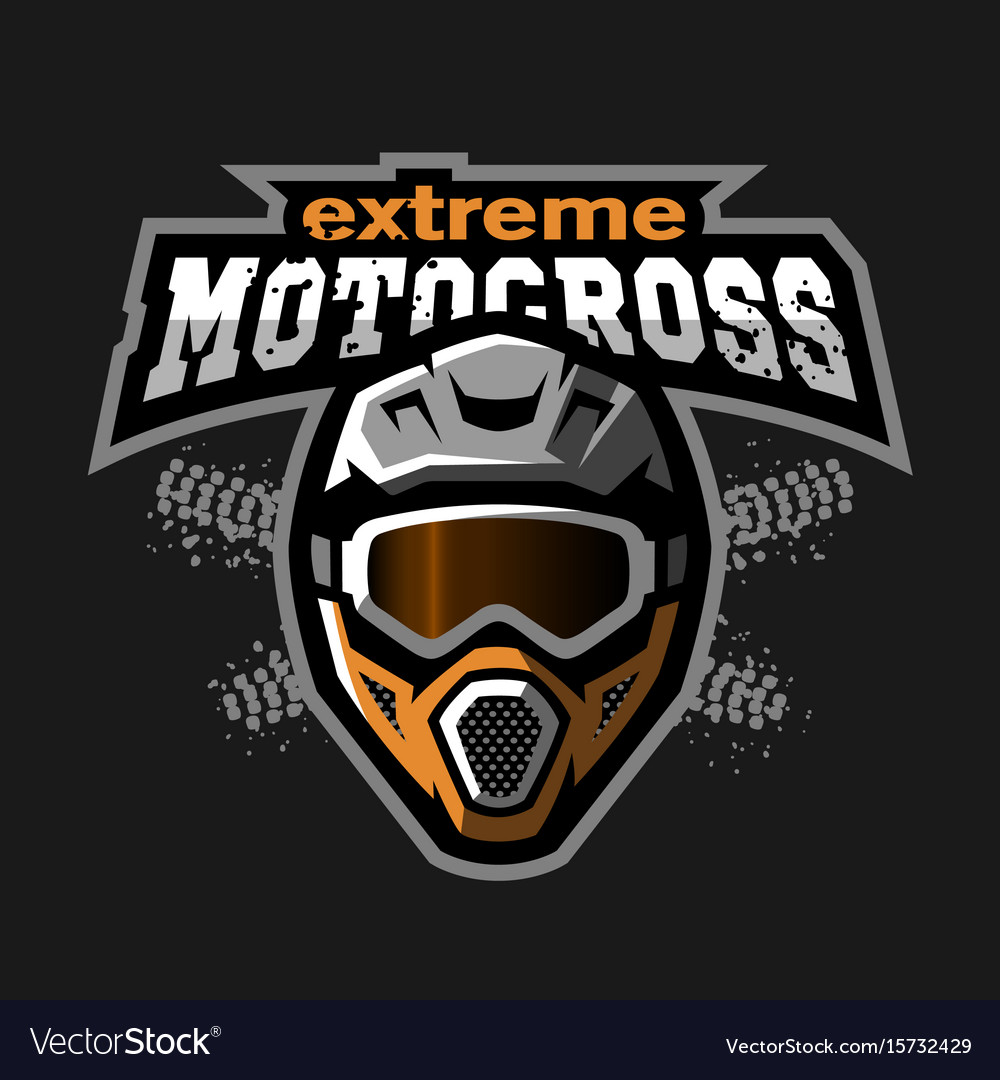 Extreme motocross logo