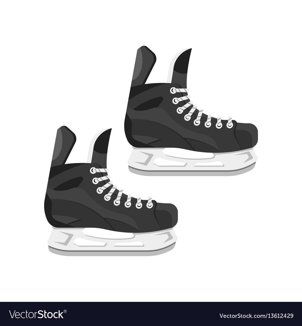 Flat style of skates