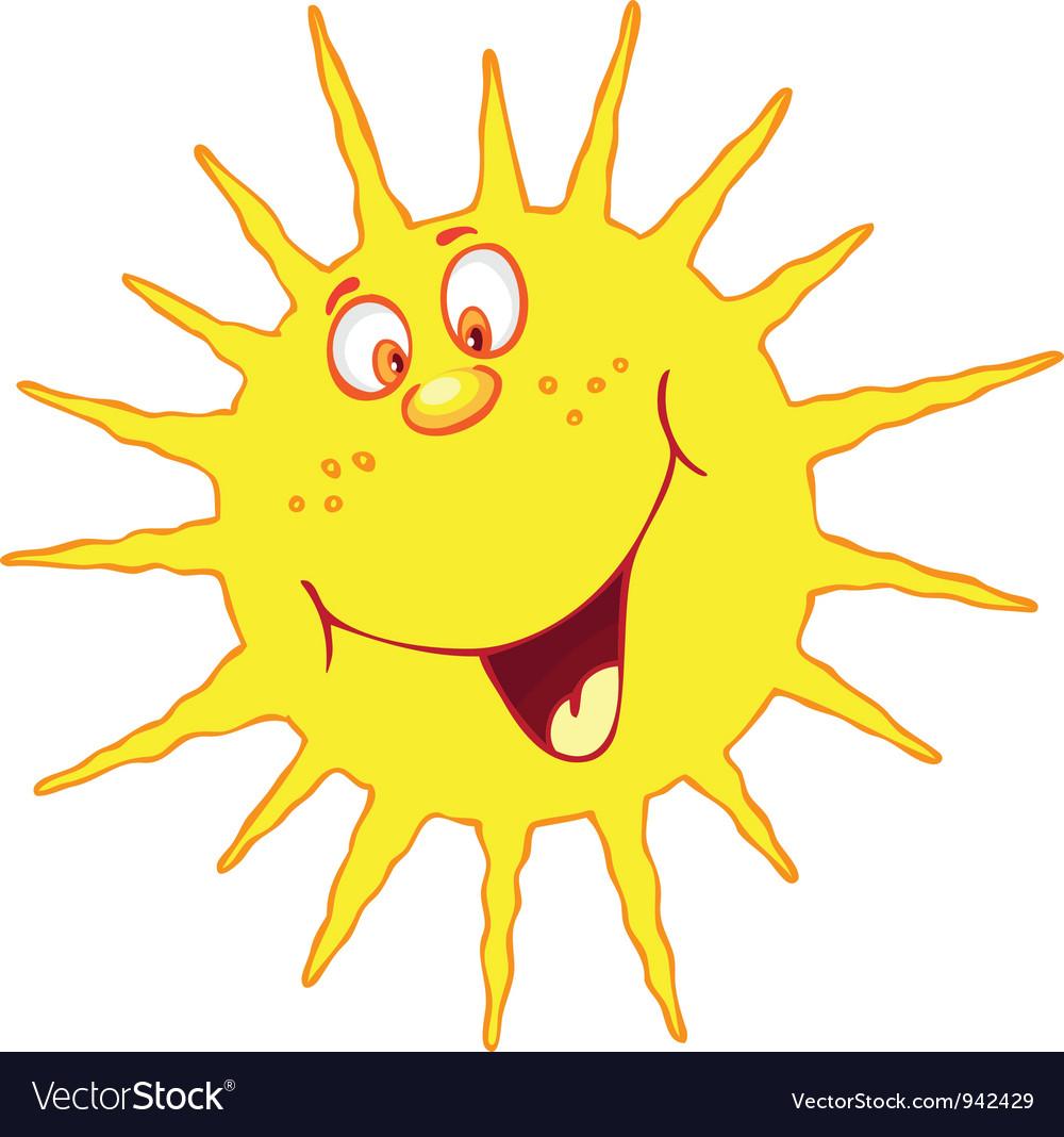 Картинка смешная солнце прощается, годику девочка