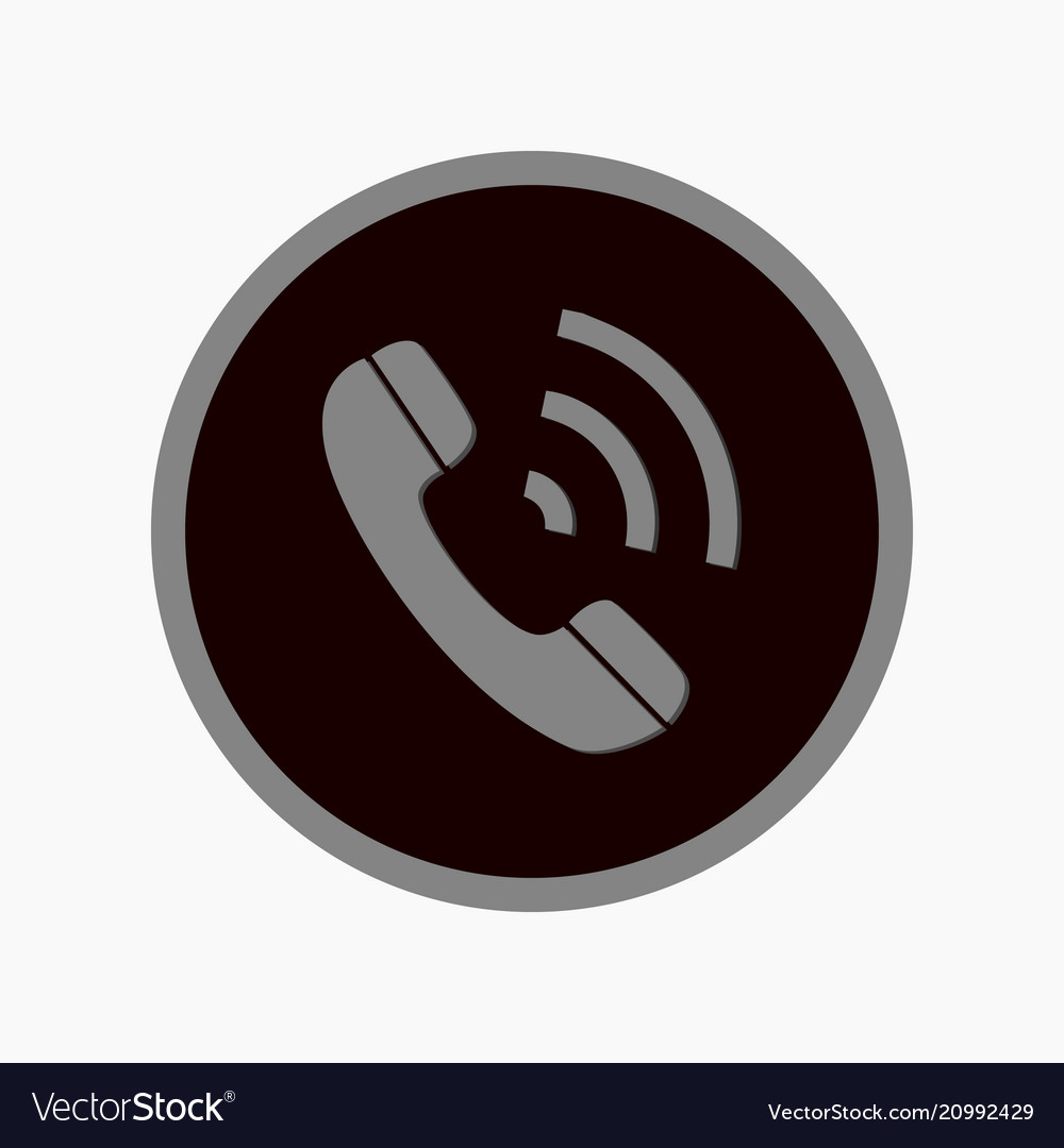 Phone rounded icon style is