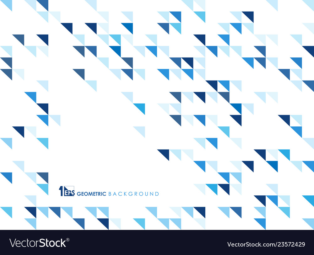 Simple blue geometric of pattern background of