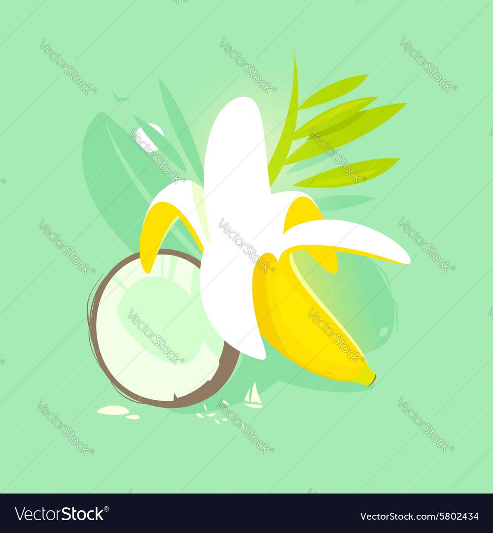 Banana coconut