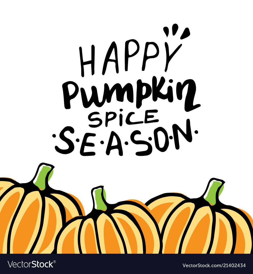 Fall autumn greeting card