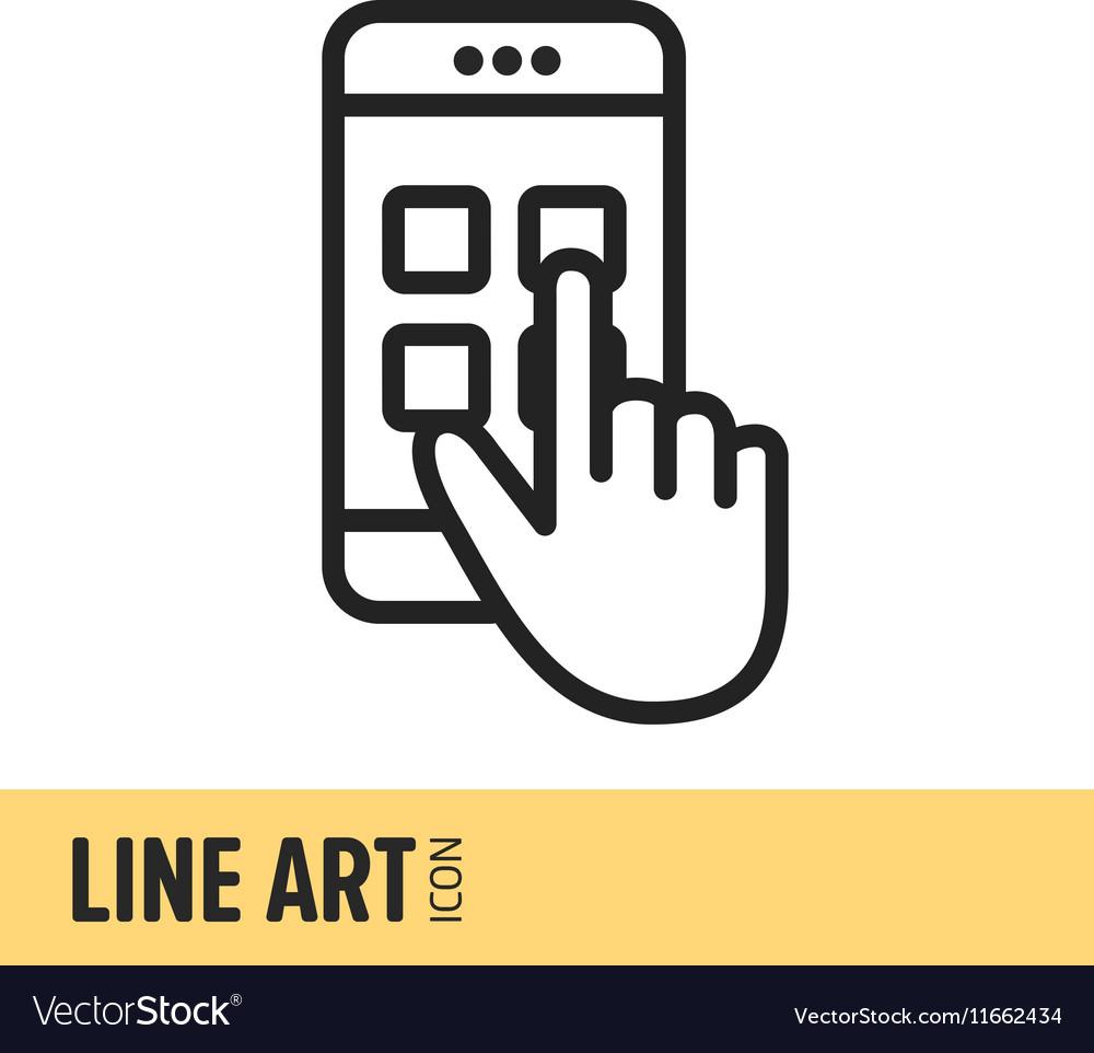 Line Art Icon