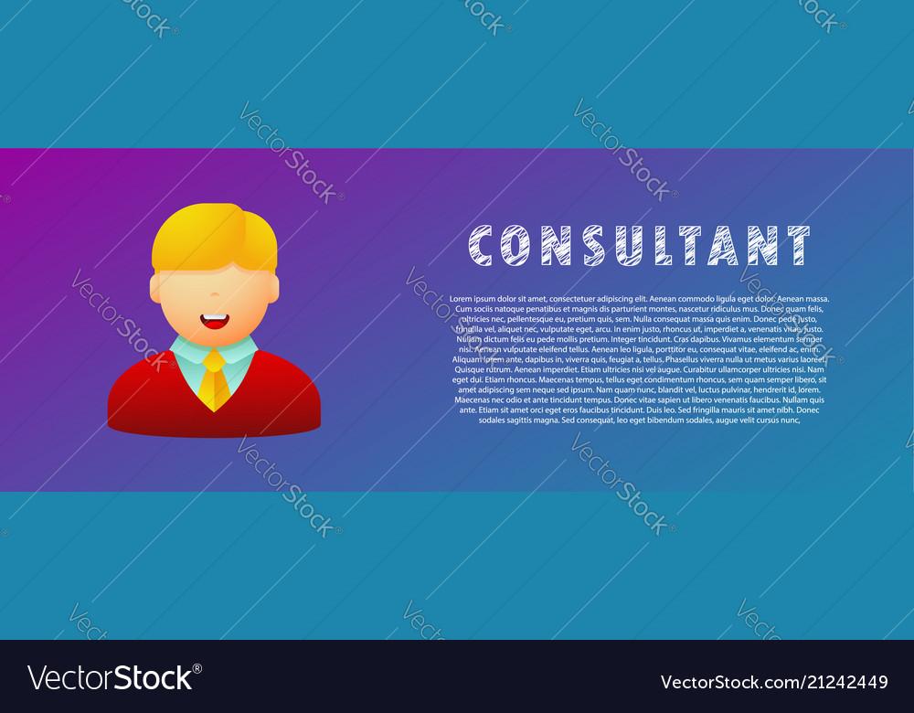 Consultant avatar flat