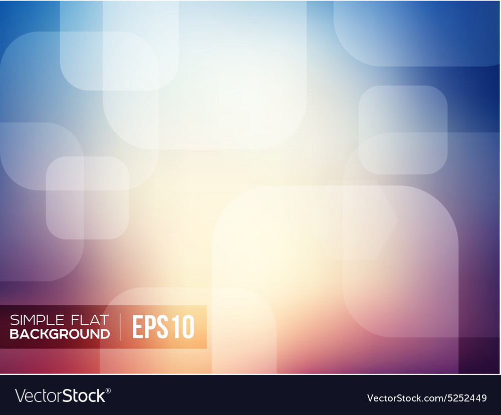 Simple flat gradient background