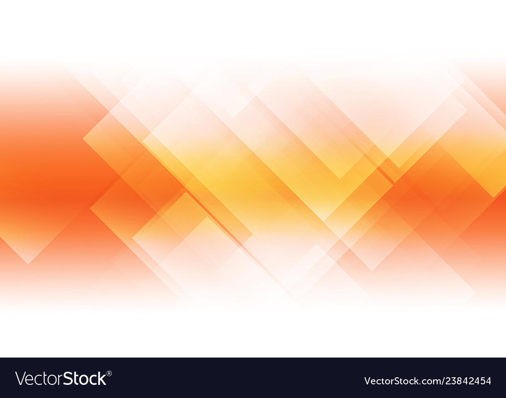 Abstract orange background with geometric shapes